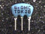 Resonnateur ceramique 4 MHz